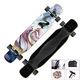 Skateboard per Principianti, con Kit di Riparazione Longboard Skateboard Dancing,...