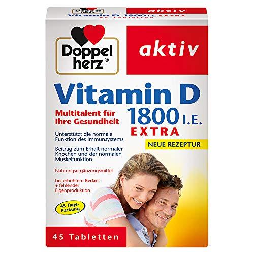Doppelherz -   Vitamin D 1800 I.E.