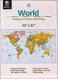 Signature Edition World Wall Map - Folded