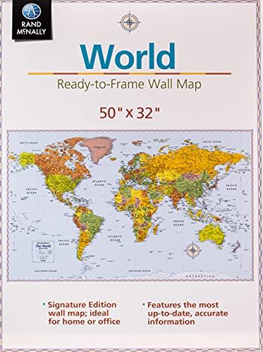 Signature Edition World Wall Map -...