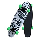 CNSTZX Tabla Completa de Skateboard Cruiser, con Tabla de Gama Alta de...
