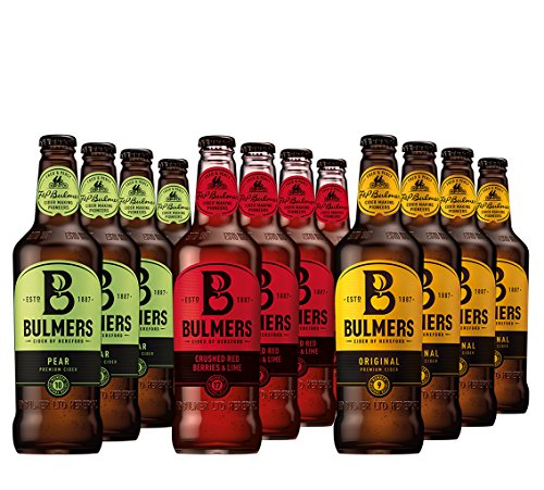 Bulmers Set 12 Flaschen Bulmers Cider Mix 12x500ml