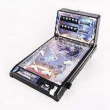 GMF Mini Mesa De Pinball De Juguete Juegos De Pinball Electrónicos Rompecabezas para Padres E Hijos Máquina De Pinball con Luces Y Sonidos Los Niños Juegan Al Pinball