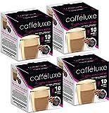 CaffeLuxe Servicio individual, cápsulas de café premium de capuchino - cápsulas compati...