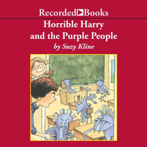 Horrible Harry and the Purple People audiobook cover art