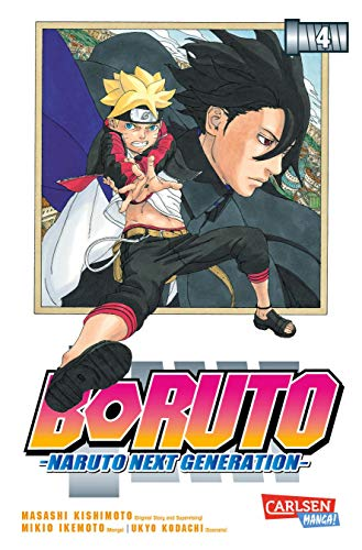 Boruto - Naruto the next Generation 4: Naruto - the next generation (4)