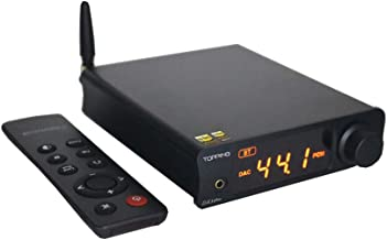 Topping DX3 Pro USB DAC Headphone Amplifier DSD512 32Bit/768kHz XMOS XU208 APTX Bluetooth Optical Coaxial Stereo Audio Amp Decoder (Black)