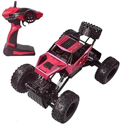 Poooc Camión rápido remoto de control,  Radio vehículo 4x4 1:12 a gran escala controlado Off- Road Monster coche eléctrico de R/C Hobby Grado Roca Modelo del vehículo sobre orugas con baterías recarga