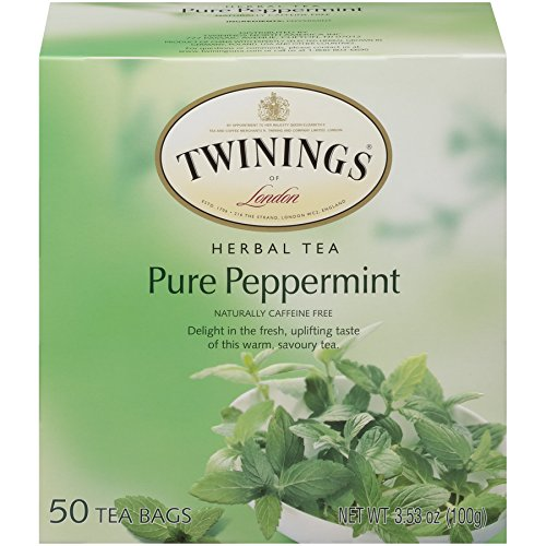 Twinings Pure Peppermint Tea 50 count Tea Bags