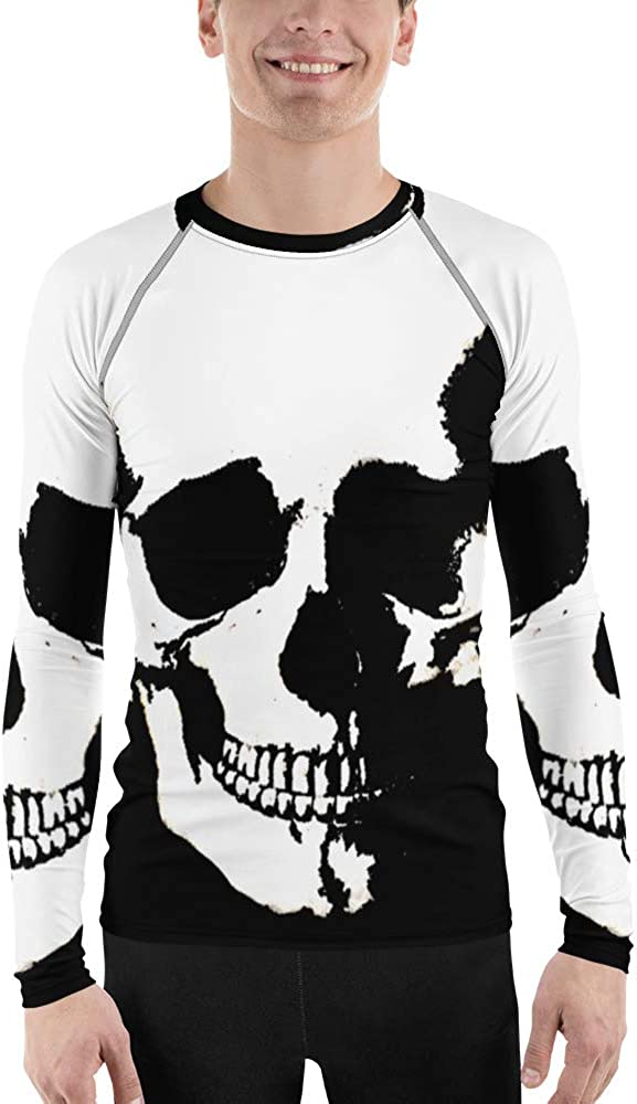 Frox Apparel Design Vanguard Skull Super sale period All stores are sold limited Men's Rash by Guard Ross Farr