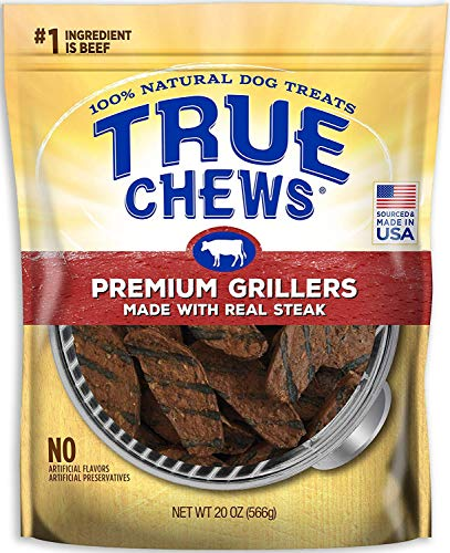 True Chews Premium Grillers Made with Real Steak 20 oz (020212-2303)