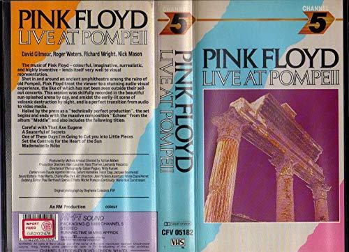 (DR6) Pink Floyd Live at Pompeii VHS