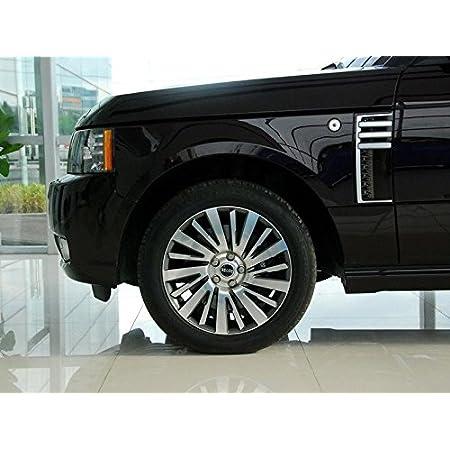JOIUJmz Car Front Side Air Outlet Vent Frame Trim Car Styling,for Land Rover Range Rover Sport 2014-2017