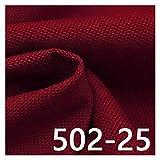 VIAIA Tela de Lino Tela Textil para Material de tapicería de Cortina para Telas de sofá hogar (Color : 25, Size : 50x150cm)