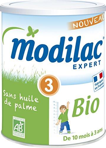 Modilac Expert Bio 3 de 10 Mois à 3 Ans 800 g