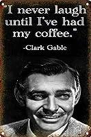 Coffee Quotes 金属板ブリキ看板警告サイン注意サイン表示パネル情報サイン金属安全サイン