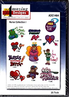 Amazing Designs Nurse Collection 1 Machine Embroidery Designs ADC1464