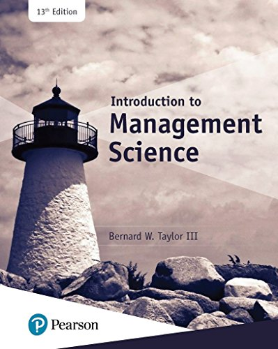 Price comparison product image Introduction to Management Science,  Student Value Edition (13th Edition)