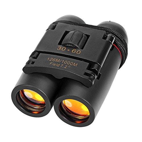 Inditradition 30x60 High Powered Binoculars | for Both Adults & Kids, Waterproof (Black)