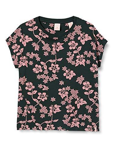 Scotch & Soda R´Belle Mädchen Florale Hawaii-Print T-Shirt, Mehrfarbig (Combo P 0595), 164 (Herstellergröße:14)