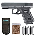 Umarex U58358. Pistola perdigon Glock 19 Gas Co2. 4,5mm. + Funda Outletdelocio + Balines + Bombonas co2. 23054/29318/13275.