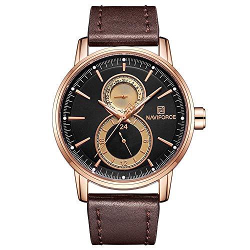 Armbanduhren,Kreative Mode Sport wasserdichte Business-Uhr, MEI Shell Kaffee Nudeln