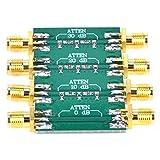 Atenuador de RF de buena uniformidad SMA Atenuador de radiofrecuencia de doble cabeza hembra DC-4.0GHz para equipos electrónicos