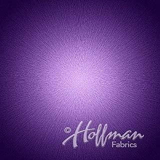 Supernova Amethyst Digital Panel 44 x 44 Cotton Fabric by Hoffman Fabrics