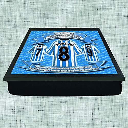 Sheffield Wednesday Football Shirt Personalised Lap Tray Gift