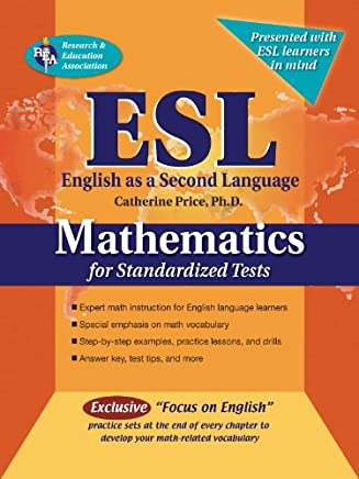 ESL Mathematics for Standardized Tests (English as a Second Language Series) (English Edition)