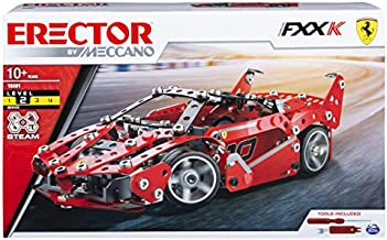 Meccano Erector, Ferrari FXX-K, S.T.E.A.M. Model Building Kit, for Ages 10 and Up