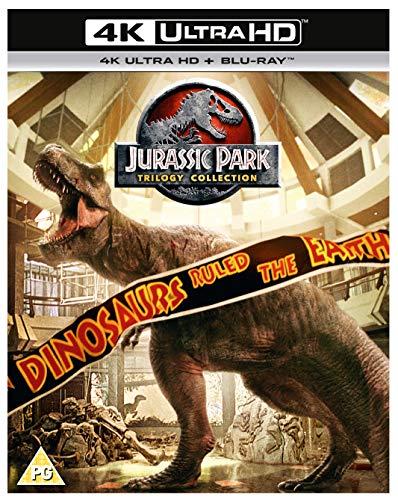 Jurassic Park Trilogy (4K UHD + BD) [Blu-ray] [2018] [Region Free]
