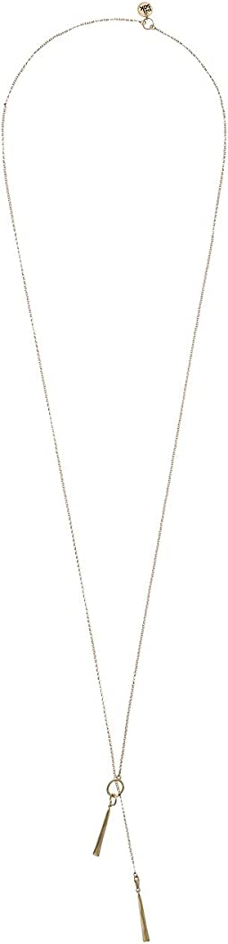 The Sak Long Paddle Pendant Necklace