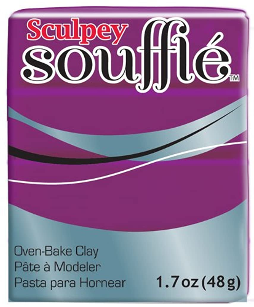 Polyform SU6-6515 Sculpey Souffle Clay, 2-Ounce, Turnip