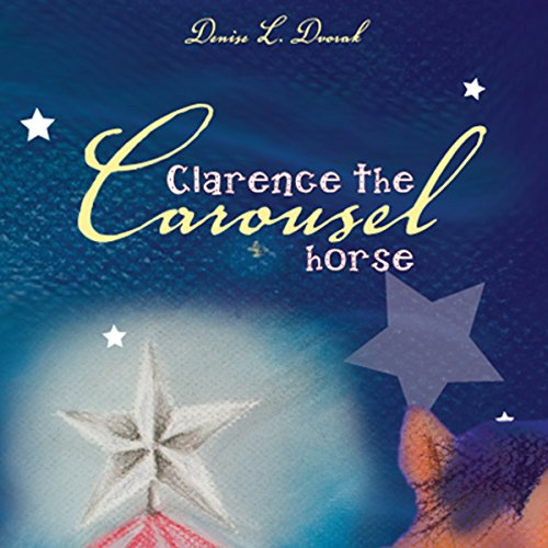 Clarence the Carousel Horse audiobook cover art