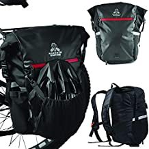 Mammoth Empire Pannier for Bicycle- Waterproof Bike Panniers Bag Bike Trunk Bag Bike Bags Rear Rack Bikepacking Bag Mountain Bike Bag to MTB Backpack Bike Backpack Bicycle Trunk Bag Bike Rack Bag
