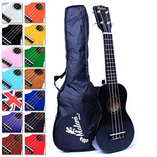 Black Soprano Ukulele - 2750+ downloadable pages of content - Ukeleles for...