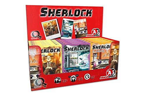 ABACUSSPIELE 47192 - Sherlock - Display II (15 Stück)