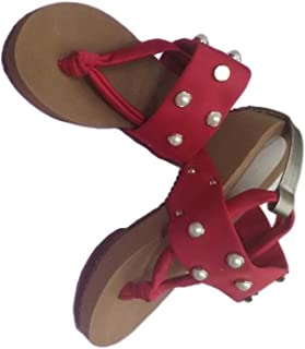SANDAL HOUSE Articles 1249 Red Sandal for Girl