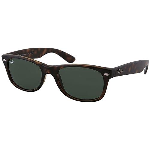 b05e27731a6ee Ray-Ban RB2132 New Wayfarer Sunglasses Unisex
