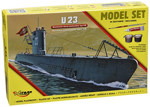 Mirage Hobby 840066 – Modèle Kit U23 German Submarine WWII typeii B