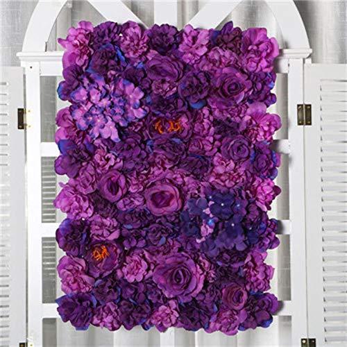 LIMMC zijden roos bloem wooncultuur champagne kunstmatige bloem voor bruiloft decoratie bloem muur romantische bruiloft achtergrond decor