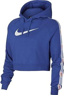 pretty nice f996c 7785b Nike W NSW Hyp FM Hoodie FLC - Sweat-Shirt - Femme