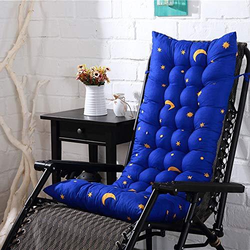 Sitzkissen Stuhlkissen Hochlehner Sitzauflage Auflagen für Gartenliegen,Auflage Sonnenliege Gartenliege Einfarbig Liegenauflagen Anti-Rutsch-Design Polster Kissen Dick Liegestuhl Relaxliegenauflage