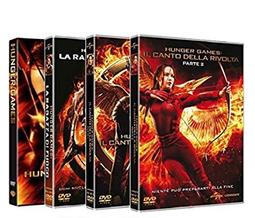 HUNGER GAMES - La Collezione Completa (4 Film DVD) Edizione Italiana