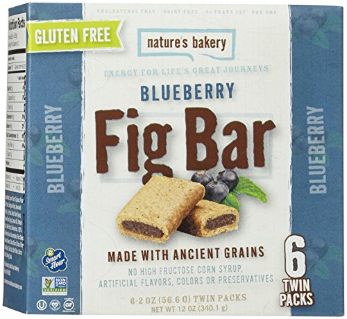 Nature's Bakery Gluten Free Fig Bars - Blueberry - 6