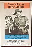 Sergeant Preston Of The Yukon 3 half hour TV Shows on DVD 1956 Plus BONUS The Challenge Of The Yukon- 3 Audio CD's 5 Old Time Radio Shows