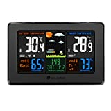 Wireless Weather Station, Houzetek S657 Digital...