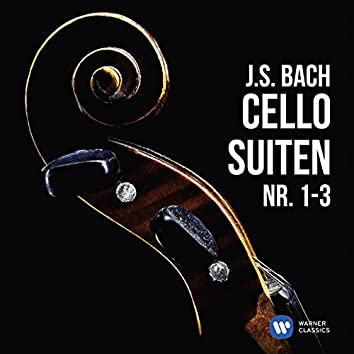 J.S. Bach: Cellosuiten Nr. 1-3