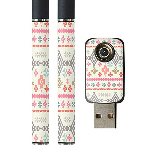 igsticker プルームテック Ploom TECH 専用スキンシール バッテリー スティック USB充電器 カバー ケース 保護 フィルム ステッカー スマコレ 012007 模様 かわいい 柄